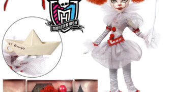 Boneca Monster High Pennywise (IT: A Coisa)