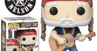 Boneco Pop! Willie Nelson, a Lenda da Música Country