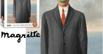 Quebra-Cabeça René Magritte: O Filho do Homem de 1964