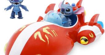 Stitch e a Espaçonave Vermelha Disney Toybox Set