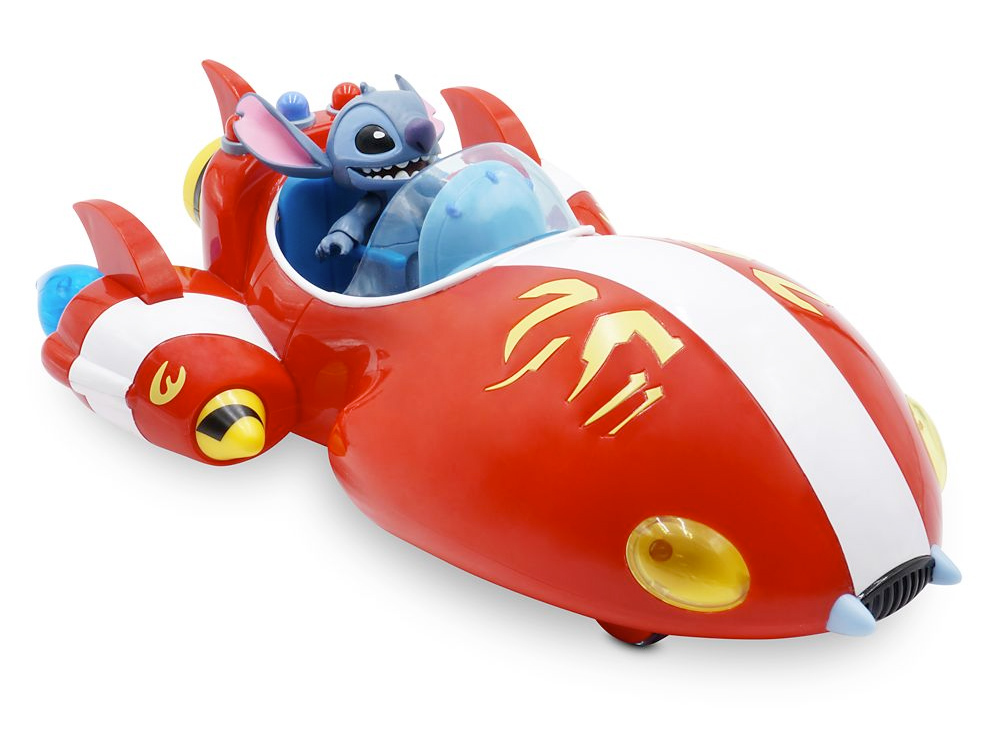 Stitch Rocket Ship Disney Toybox