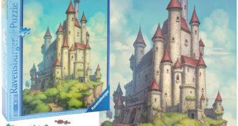Quebra-Cabeça Castelo da Branca de Neve com 1.000 Peças