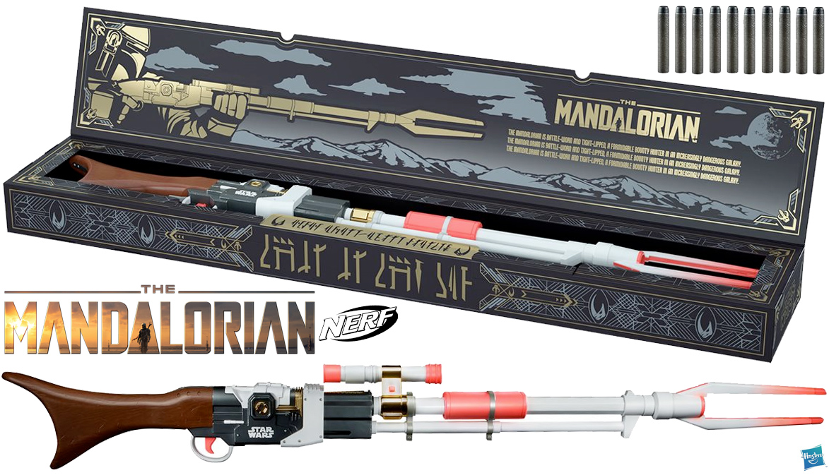 NERF LMTD Star Wars The Mandalorian Amban Phase-pulse Blaster