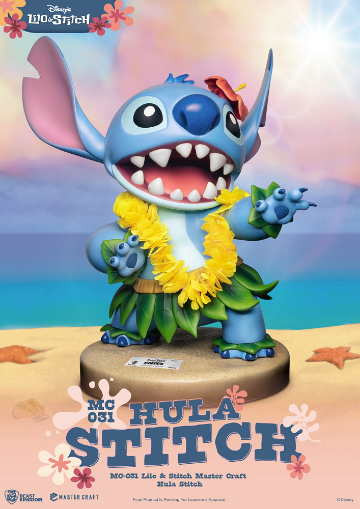 Estatua Hula Stitch Master Craft Statue