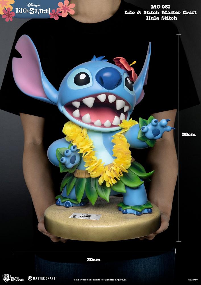 Estatua Hula Stitch Master Craft Statue