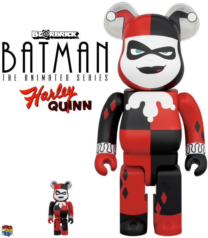 Bonecas Harley Quinn Batman Animated Series Bearbricks