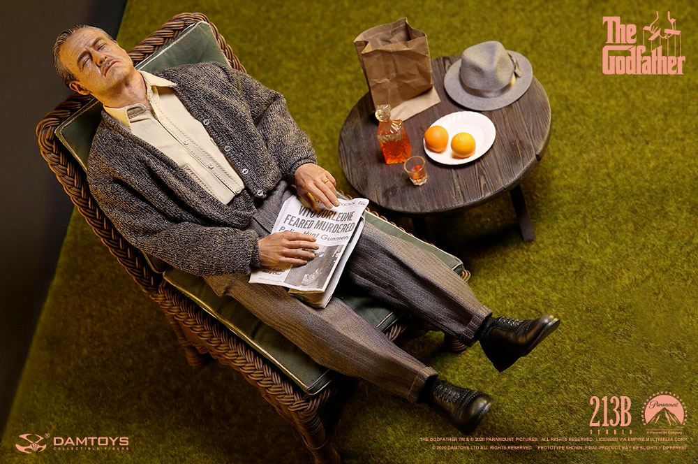 Action Figure Vito Corleone Golden Years Version The Godfather