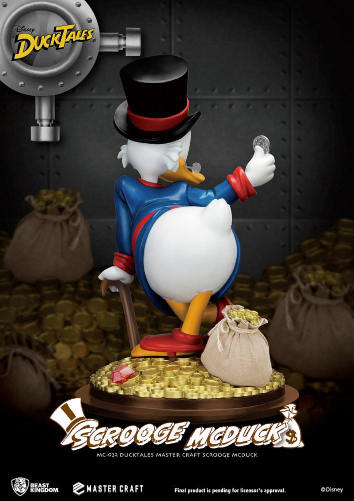Estatua Tio Patinhas Scrooge McDuck DuckTales Master Craft