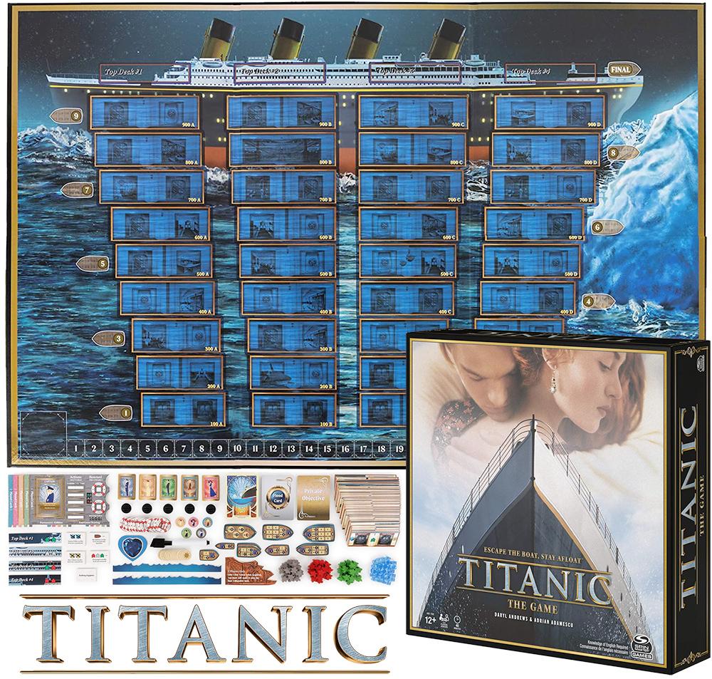Jogo de Tabuleiro Titanic Board Game