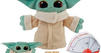 Boneco de Pelúcia Grogu 3-em-1 (Baby Yoda) Star Wars The Mandalorian