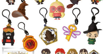 Chaveiros Harry Potter 3D Monogram Figural Keyrings Série 5