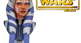 Busto Ahsoka Tano Legends in 3D em Escala 1:2 (Star Wars: The Clone Wars)