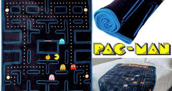 Cobertor de Lance Pac-Man