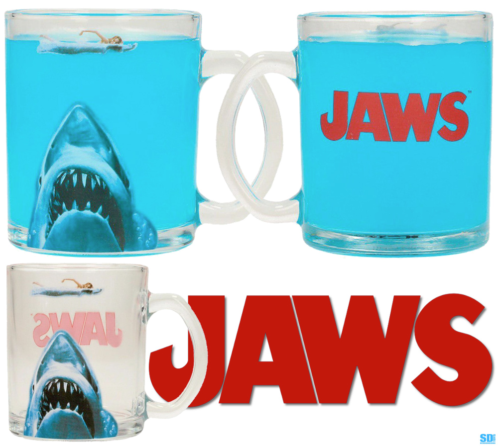 Caneca Jaws Transparent Mug