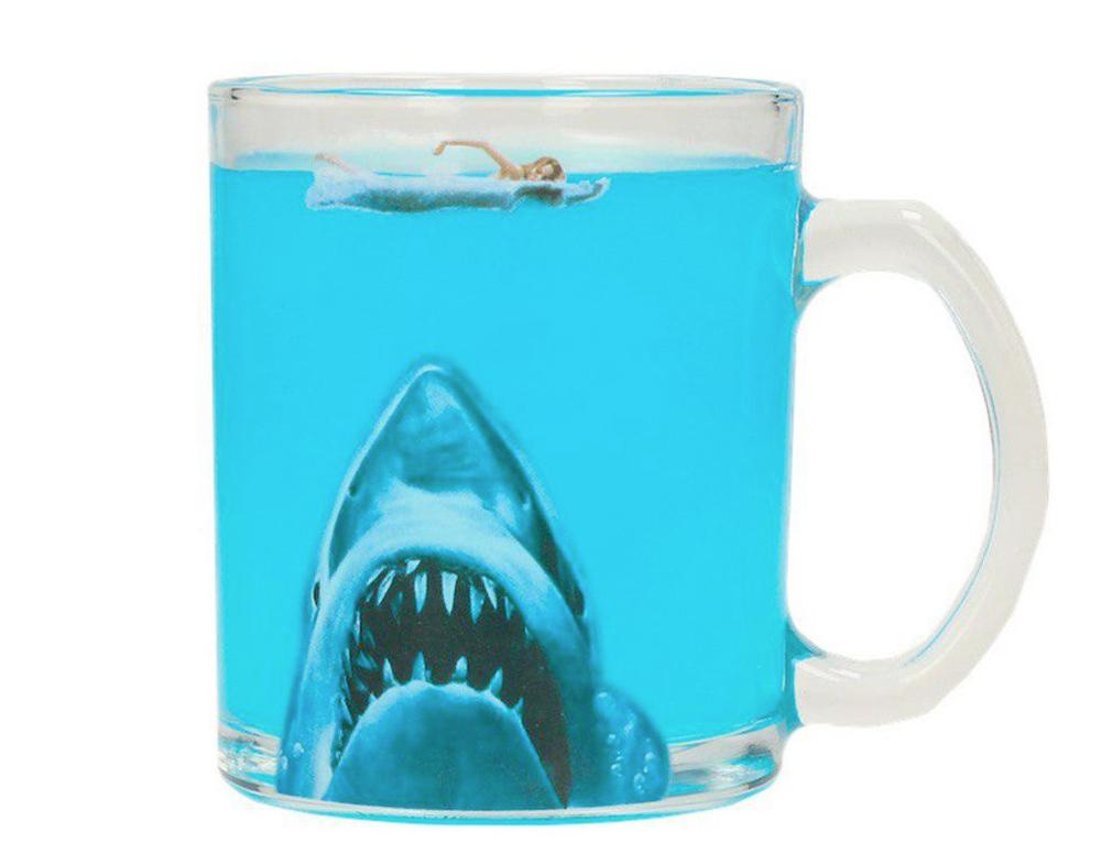 Caneca Jaws Transparent Mug