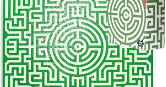 Quebra-Cabeça Impossível Labirinto com 1.000 Peças