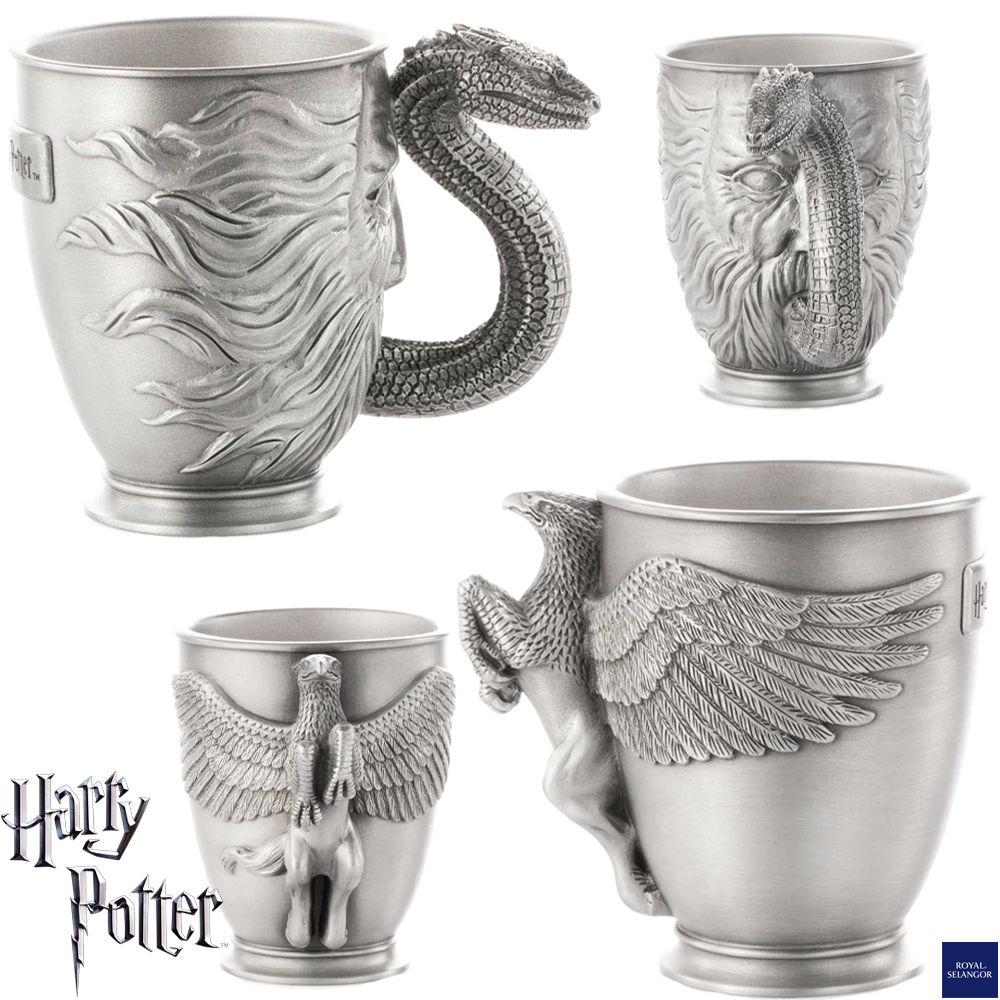 Canecas Harry Potter Pewter Mug Basilisco Hipogrifo
