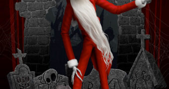 Jack Papai Noel DAH de Nightmare Before Christmas – Action Figure 1:9 da Beast Kingdom