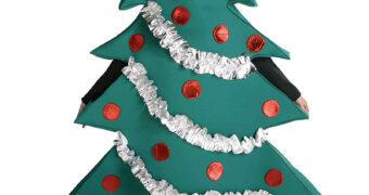 Fantasia de Árvore de Natal para Fugir do Lugar-Comum