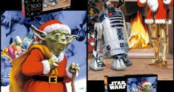 Quebra-Cabeças dos Cartões de Natal Star Wars da Lucasfilm