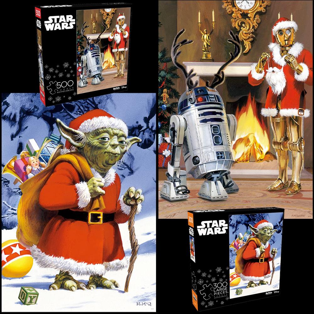 Quebra-Cabecas Star Wars Xmas Cards Jigsaw Puzzle