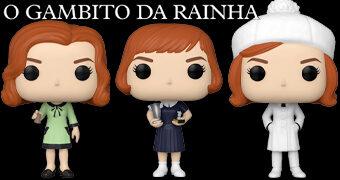 Bonecas Beth Harmon (Anya Taylor-Joy) Pop! TV O Gambito da Rainha