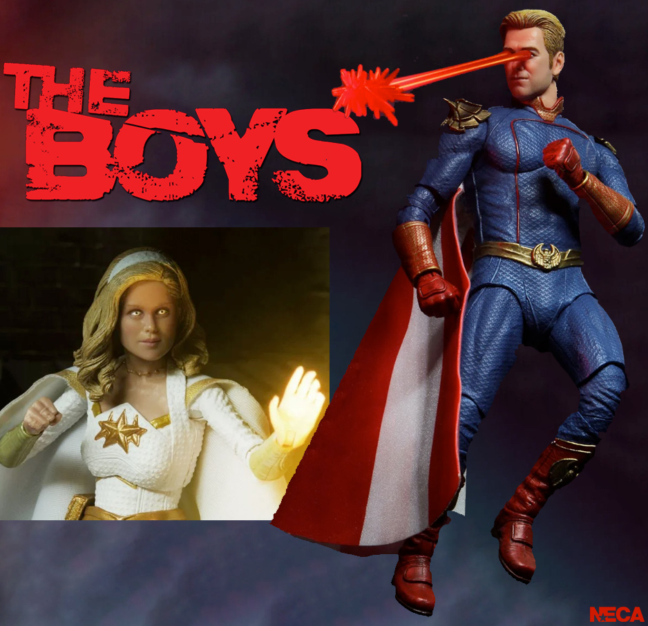 Action Figures The Boys
