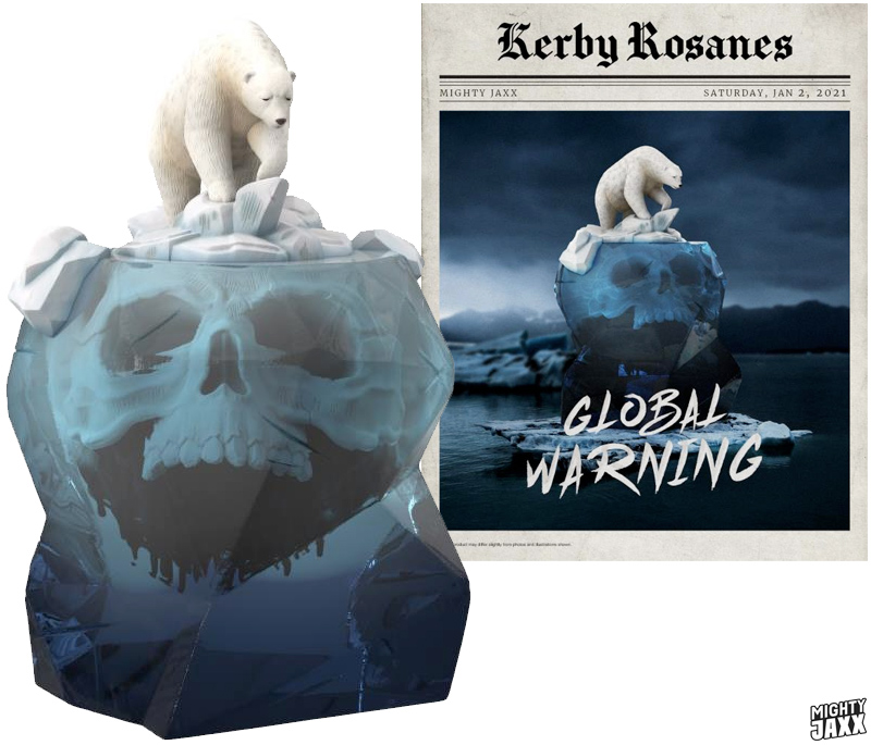 Global Warning by Kerby Rosanes Limited Edition Art Toy