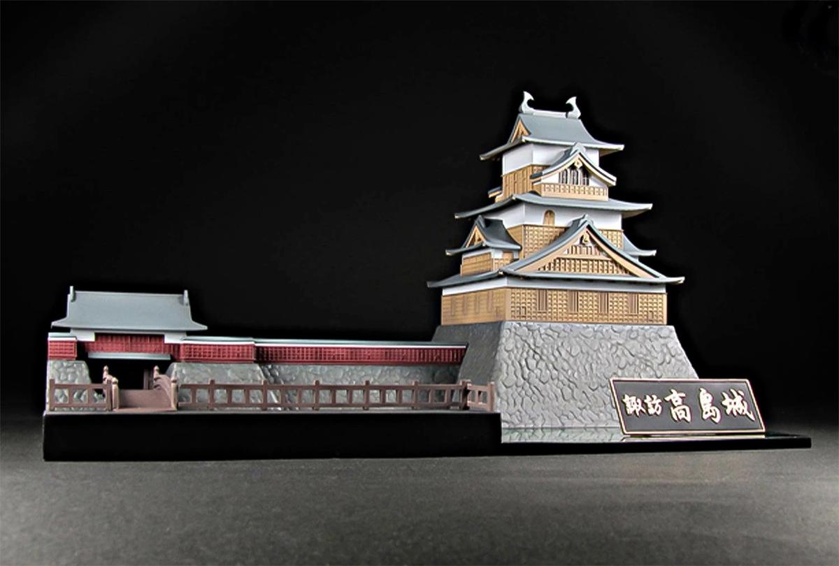 Kit Plastico de Montar Suwa Takashima Castle Model Kit
