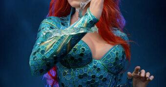 Mera (Amber Heard) em Aquaman – Busto Perfeito 1:1 Infinity Studio por 4 Mil Dólares