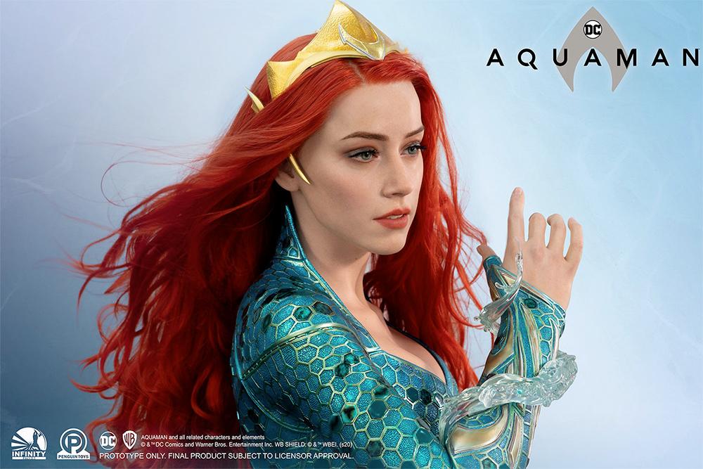 Busto Tamanho Real Mera Aquaman Life-Size Bust