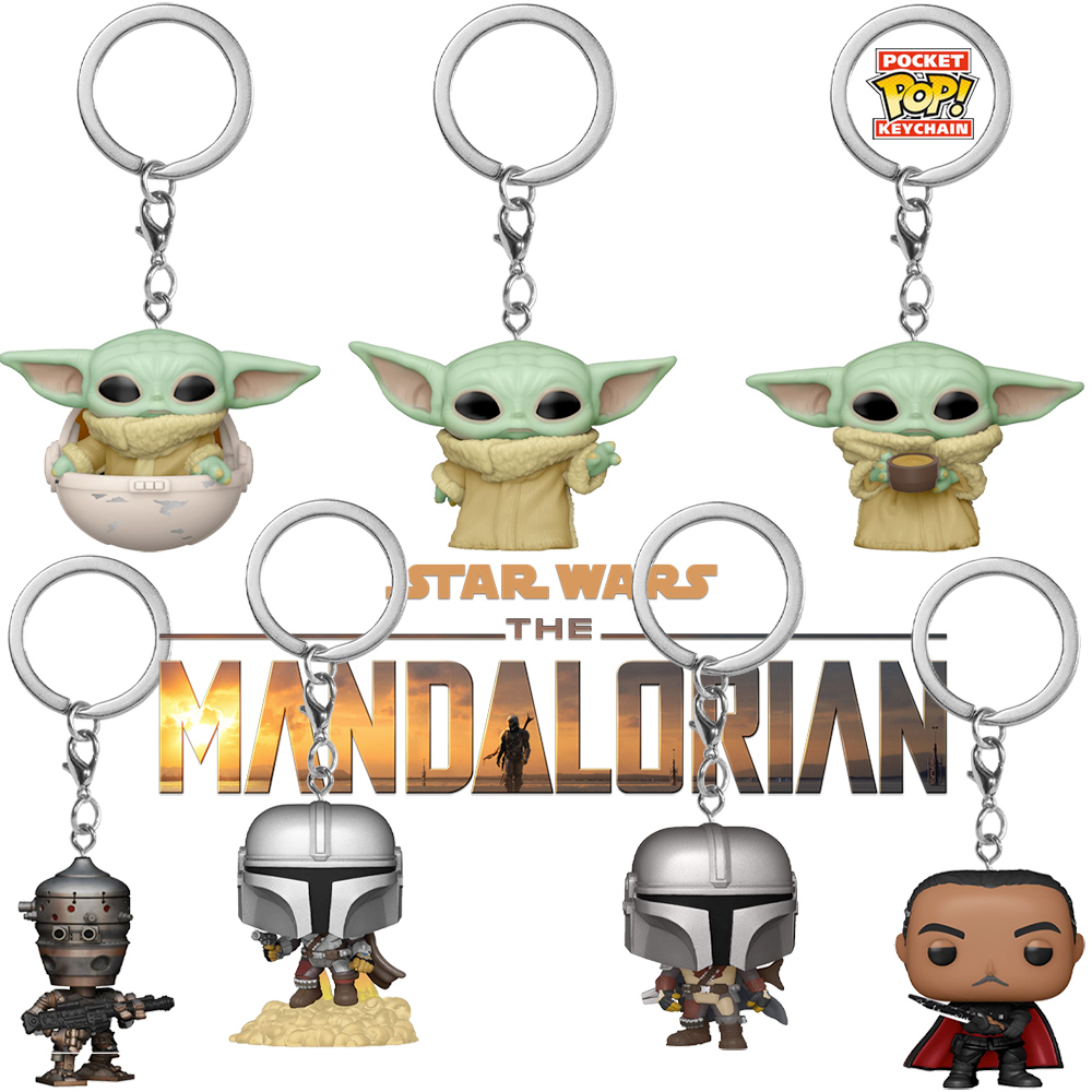 Chaveiros Star Wars The Mandalorian Pocket Pop