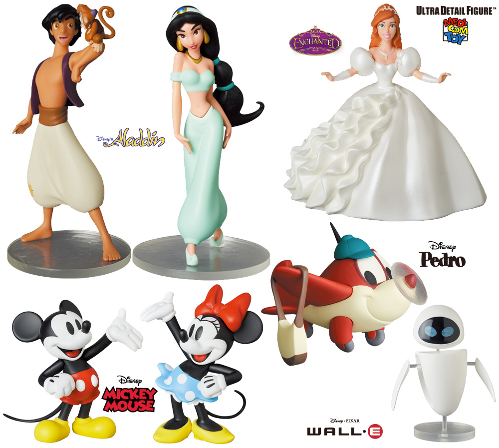 Mini Figuras Medicom Disney UDF Series 9
