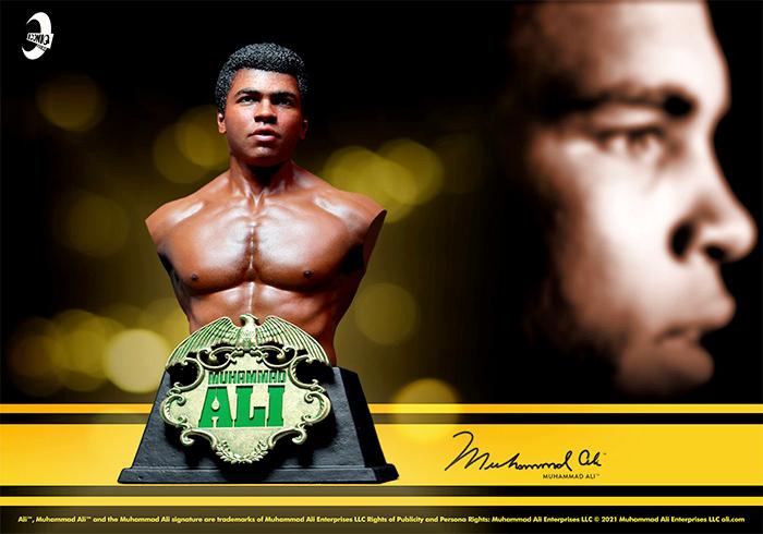Busto Muhammad Ali Collectible Bust Iconiq Studios