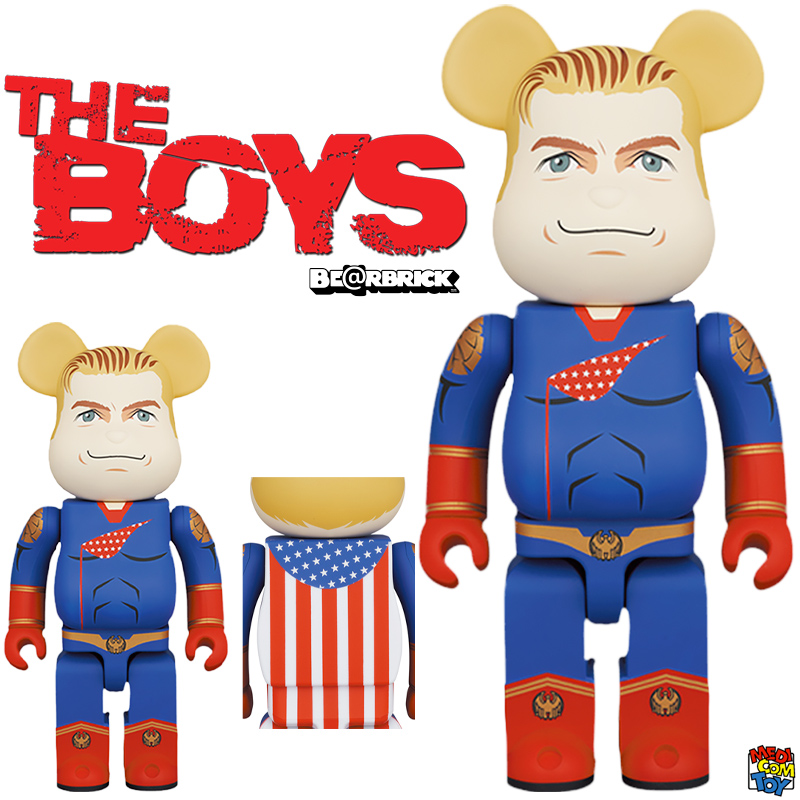 Bonecos Homelander The Boys Bearbricks