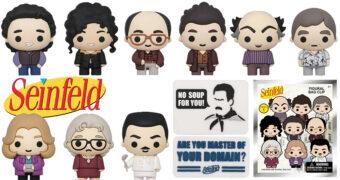 Chaveiros Seinfeld 3D Figural Bag Clip (Blind-Box)