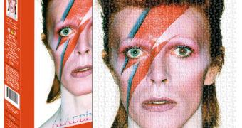 Quebra-Cabeça David Bowie Aladdin Sane com Foto de Brian Duffy