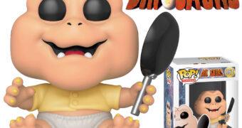 Boneco Pop! Baby da Silva Sauro da Série Família Dinossauros