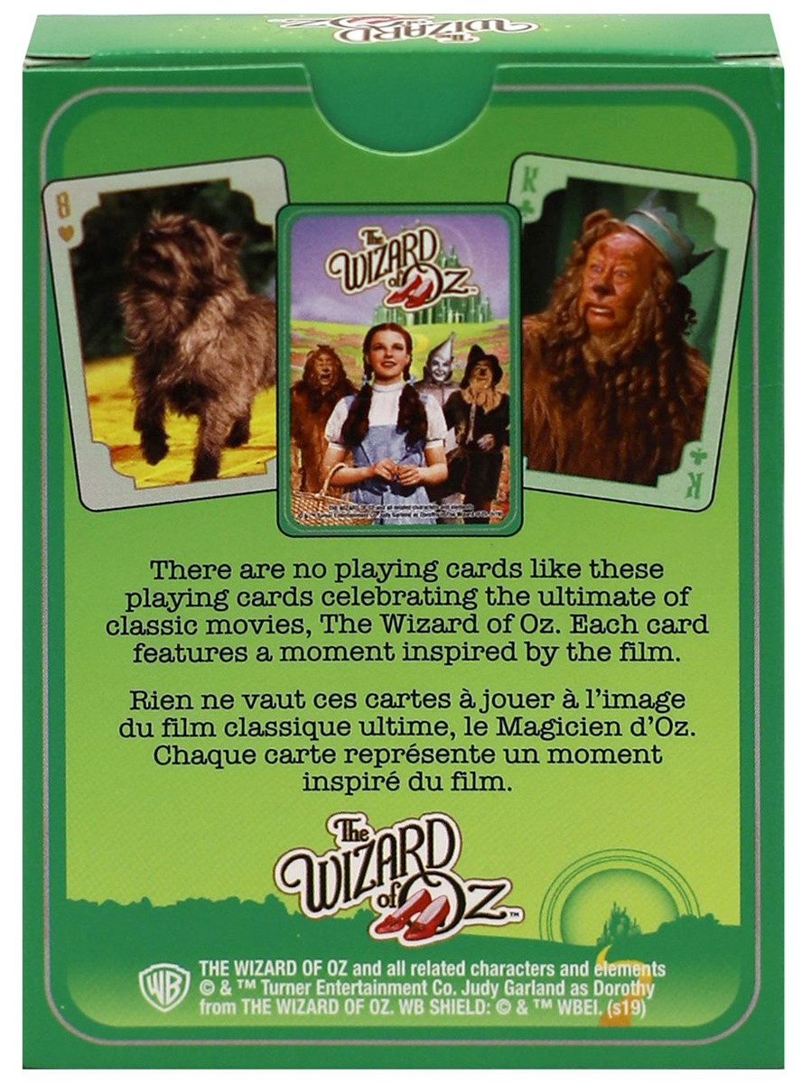 Baralho O Magico de OZ Wizard of Oz Playing Cards