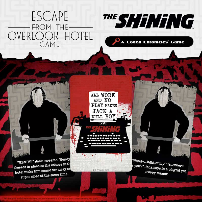 Jogo Cooperativo O Iluminado The Shining-Escape from the Overlook Hotel Coded Chronicles Game