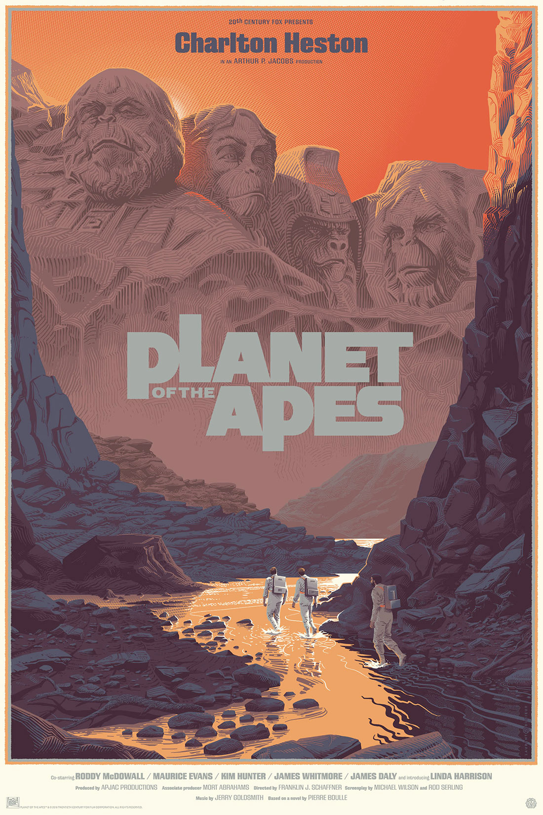 Planeta dos Macacos Planet of the Apes by Durieux