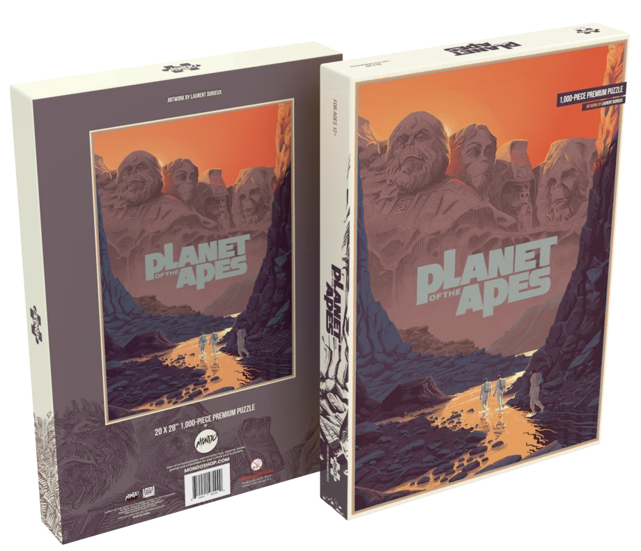 Quebra-Cabeca Planeta dos Macacos Planet of the Apes by Durieux 1000-Piece Puzzle