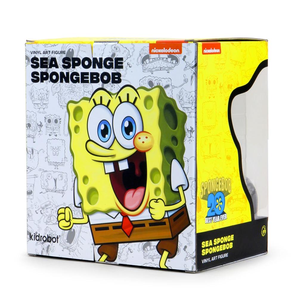 Boneco ToyArt Bob Esponja SpongeBob SquarePants Abrasive Sponge Art Figure