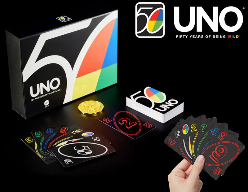 UNO Premium 50th Anniversary Edition Card Game