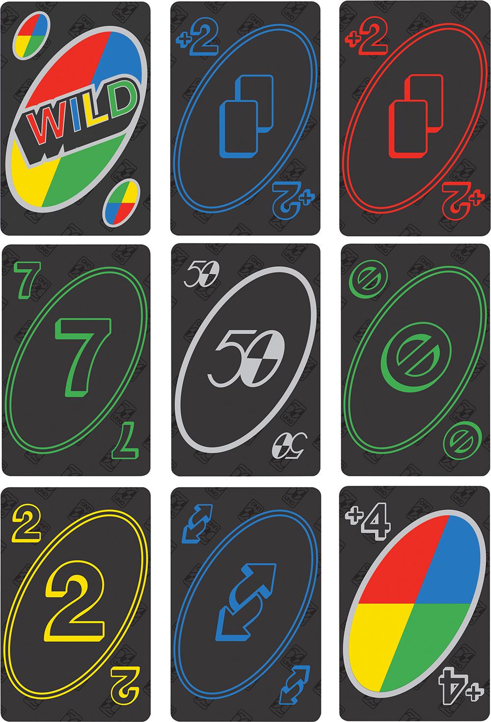 UNO Premium 50th Anniversary Edition Card Game