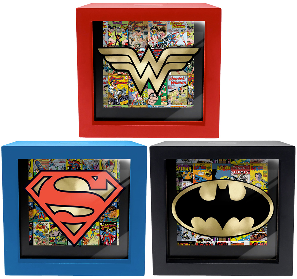 Cofre DC Comics Shadow Box Bank