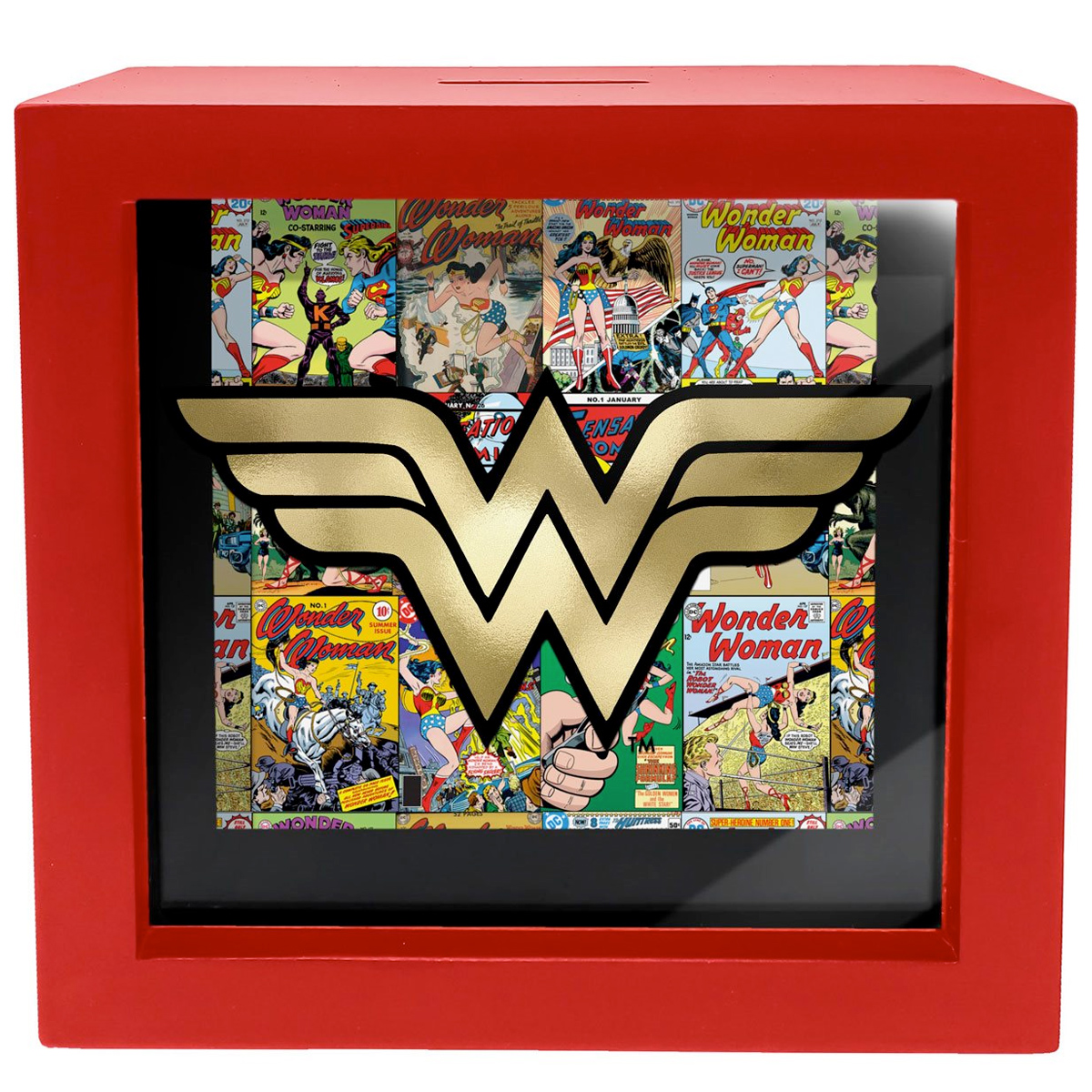 Cofre DC Comics Shadow Box Bank
