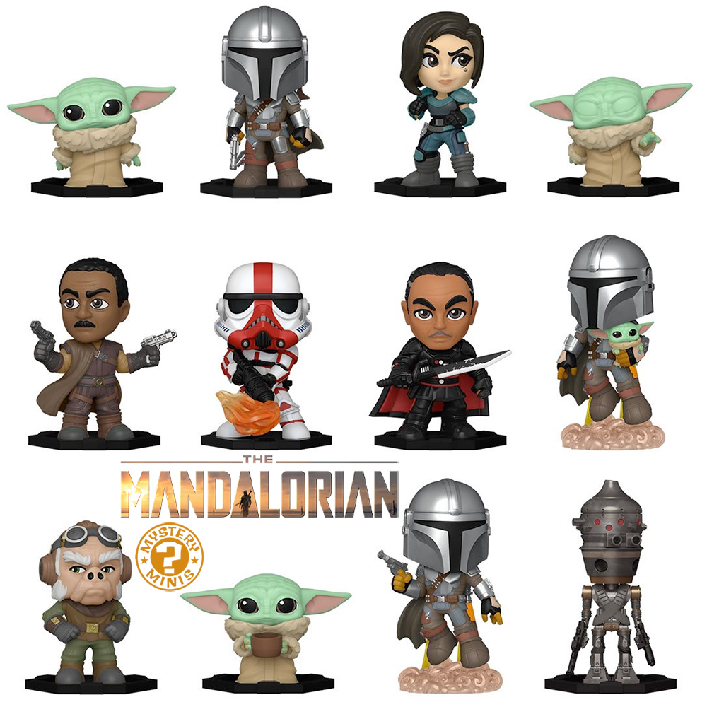 The Mandalorian Mystery Minis Mini-Figures