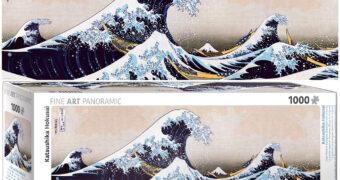 Quebra-Cabeça Katsushika Hokusai: A Grande Onda de Kanagawa de 1831