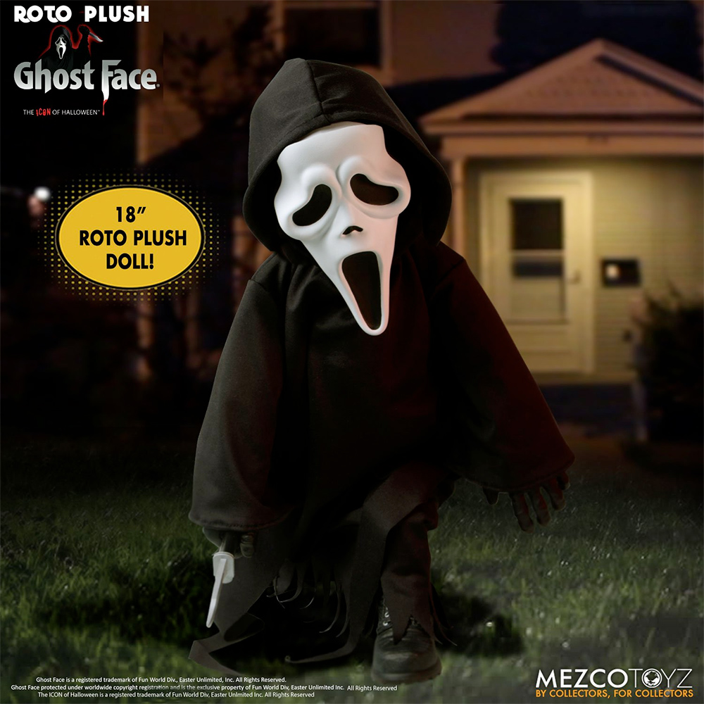 Boneco Ghost Face MDS Roto Plush Doll
